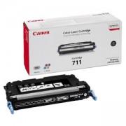 Тонер касета Canon CRG-711BK, 6000 копия, Черен, 1660B002BA