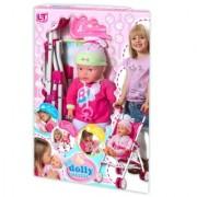 Loko toys lutka beba sa kolicima 37 cm