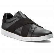 Обувки CALVIN KLEIN - Baku Tumbled Leather F0798 Blk Black