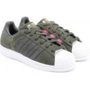 ADIDAS ORIGINALS SUPERSTAR W Sneakers For Women(Green)