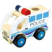 Masinuta de Politie Bino din lemn