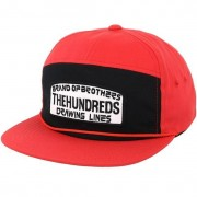 The Hundreds Keps Race Red Snapback - The Hundreds - Röd Snapback