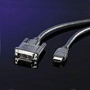 ROLINE 11.99.5552 :: VALUE DVI / HDMI кабел, 5.0 м
