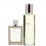 Hermes Terre D' Eau Tres Fraiche Eau de Toilette Spray 30ml Set regalo