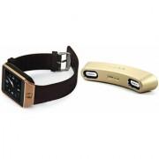 Zemini DZ09 Smart Watch and Gibox G6 Bluetooth Speaker for SONY xperia mini pro(DZ09 Smart Watch With 4G Sim Card Memory Card| Gibox G6 Bluetooth Speaker)