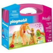 Комплект Плеймобил 5656 - Магически кон с принцеса в куфарче, Playmobil, 2900087