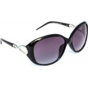 TheWhoop Oval Sunglasses(Violet)