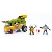Jucarie Mega Bloks Teenage Mutant Ninja Turtles Party Wagon Building Set