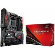 Tarjeta Madre ASUS ATX ROG CROSSHAIR VI EXTREME, S-AM4, AMD X370, USB 3.0, 64GB DDR4, para AMD