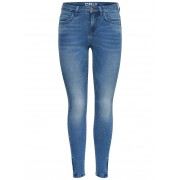 ONLY Kendell Ankle Zip Skinny Jeans Dames Blauw / Female / Blauw / 28