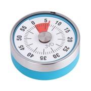Modrá mechanická kuchyňská minutka JVD DM77.1
