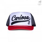 CA-RIO-CA 3 Tone Trucker Hat Black/Red/White CRC-H108001