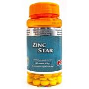 Zinc Star 60 db tabletta, 20 mg - StarLife - A cink több mint 300 enzim alkotóeleme