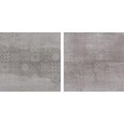 Jabo Concrete tegel 60 x 60 cm grigio decor (4 stuks)