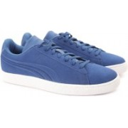 Puma Suede Classic Embossed Sneakers For Men(Blue)