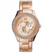 Fossil Rose Dial Womens Watch - ES3590
