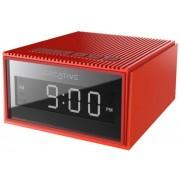 Radio cu ceas Creative Chrono 51MF8280AA003, Bluetooth, Alarma, MP3, microSD (Rosu)