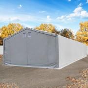 taltpartner.se Lagertält 6x18m PVC 550 g/m² grå vattentät
