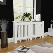 vidaXL Dulap mască calorifer radiator din MDF 152 cm, alb