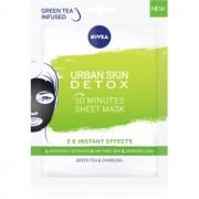 Nivea Urban Skin Detox mască activă și detoxifiantă cu carbon activ
