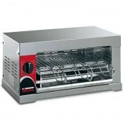 Tostiera Sirman 6Q Capacità 6 Toast Watt 2400 Timer da 1 a 15 minuti Cassetto raccogli briciole asportabile