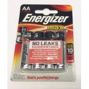 Energizer E91 max +Powerseal Technology AA Batterie 4er SE10