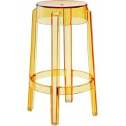 Replica Charles Ghost Stool - transparent yellow