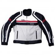 Black Bike Chamarra Black Bike Pro-Clasika Negro con Blanco Extra Extra Grande