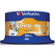 DVD-R Verbatim 16x full printabilni 1/50