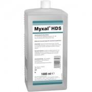 Peter Greven Physioderm GmbH Peter Greven MYXAL® HDS, Alkoholfreie, parfüm- und farbstofffreie antimikrobielle Waschlotion, 1000 ml - Hartflasche
