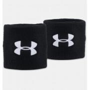 Under Armour Men's UA 7.5cm Performance Wristband Black OSFA