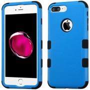 Funda Case Para IPhone 7 Plus / IPhone 8 Plus Protector Dobre De Uso Rudo-Azul