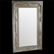 Elizabeth Silver Traditional Mirror
