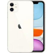 Apple Iphone 11 128GB fehér, kártyafüggetlen, Gyártói garancia
