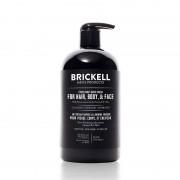 Brickell Fresh Mint All In One Wash 16 oz / 473 mL Skin Care
