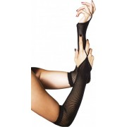 Leg Avenue Fishnet Arm Warmers - manicotti a rete