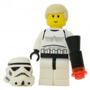 Luke Skywalker In Stormtrooper Disguise (Yellow Flesh) - LEGO Custom Star Wars Figure