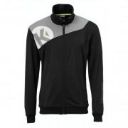 Kempa Polyesterjacke CORE 2.0 - schwarz/dark grau melange | 140