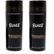 Hårfiber.nu 2x Bunee Large - Valfri Färg - 27,5g - Grey