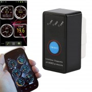 EH Herramienta De Análisis Lector Adaptador Bluetooth Escáner De Par Android OBD2 De Código De OBDII Negro