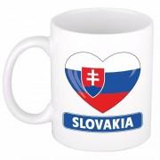 Shoppartners I love Slowakije mok / beker 300 ml Multi