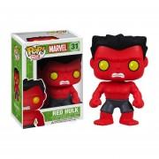 Funko Red Hulk Marvel Clasico-Rojo