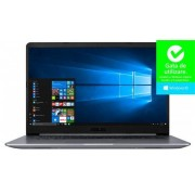 "Ultrabook™ ASUS VivoBook S15 S510UA-BQ452R (Procesor Intel® Core™ i5-8250U (6M Cache, up to 3.40 GHz), Kaby Lake R, 15.6"" FHD, 8GB, 256GB SSD, Intel® UHD Graphics 620, FPR, Win10 Pro, Gri)"