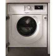 Masina de spalat rufe cu uscator incorporabila Whirlpool BI WDWG 751482 EU, 6th Sense, 7 kg spalare/5kg uscare, 1400 rpm, Clasa B, Alb