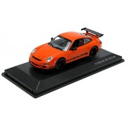 Porsche 911 997 GT3 RS Black 1/43 Diecast Model Car by Road Signature