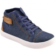 Super men blue 628 casual sneaker loafer sports boots shoes