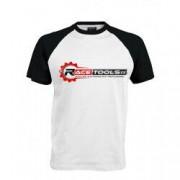 RACETOOLS T-shirt RACETOOLS Blanc / Noir - Taille - S