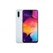 Samsung Galaxy A50 SM-A505FDS 128 GB, Doble SIM, visualización Infinity-U de 6,4 Pulgadas, Triple cámara, 6 GB de RAM, Modelo Internacional Desbloqueado gsm, Blanco