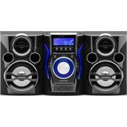 Micro Sistem Audio Blaupunkt MC60BT, CD/MP3 Player, Bluetooth, Functie Karaoke (Negru)