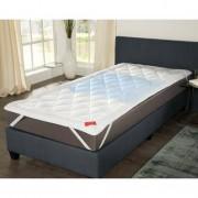 """Hefel Cool Mattress Topper, 140 x 200cm (4ft6"""" x 6ft6""""), approx. 1,400g (3.1 lbs)"""
